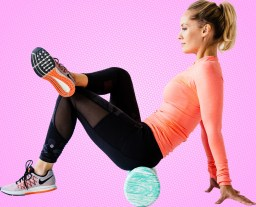 Foam roller for glutes
