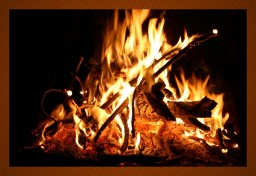 Natural Colours of Firelight