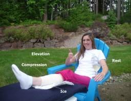 Treatment of new injury