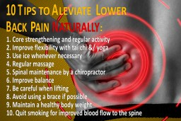 10 tips for back pain suferers
