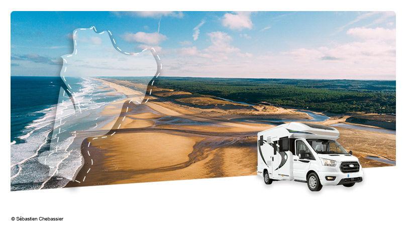Road Trip En Camping Car Profile Les Landes Atlantique Sud France Avec Voyages Leclerc Nouvelles Destinations Ref 655798
