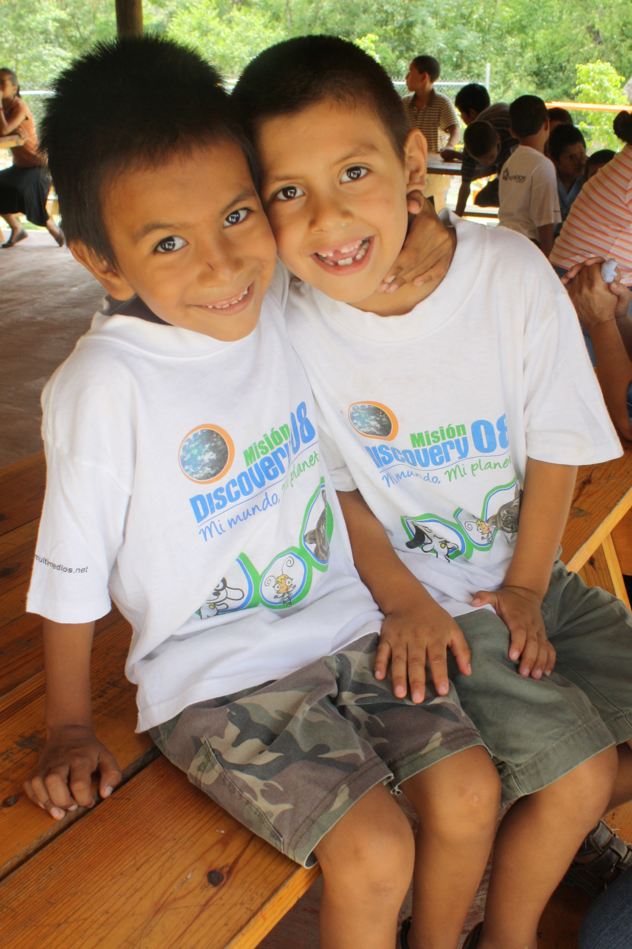 Two Boys at Casa Hogar Douglas