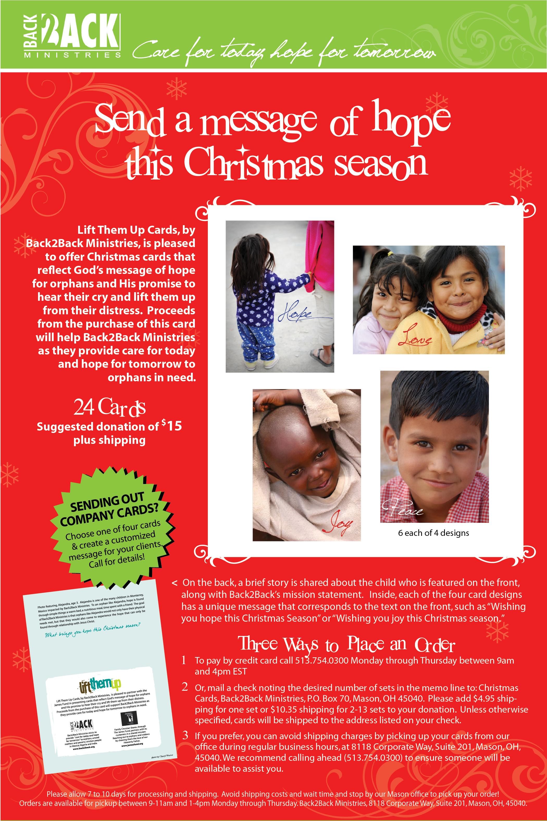 B2B Christmas Cards