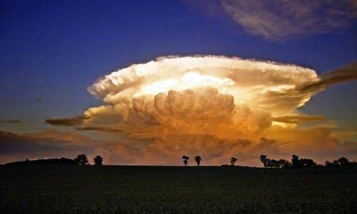Cumulus-nimbus