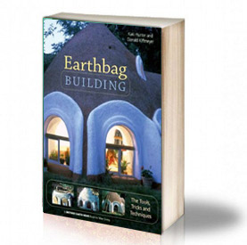 Book Cover: Earthbag building - Kaki Hunter & Donald Kiffmeyer