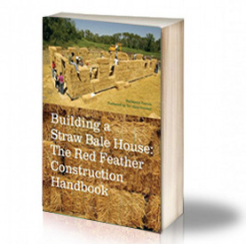 Book Cover: Building a straw bale house - Nathaniel Corum