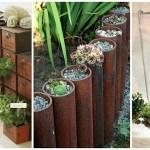 16 напълно различни предмета, в които можете да отглеждате растения