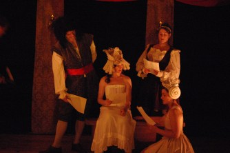 Alcock, Lizzie, Molly & Jane (Chris Savage, Constance Witman, Joi Smith & Danica Carlson)