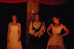 Elizabeth Barry, Molly Luscombe & Jane (Constance Witman, Joi Smith & Danica Carlson)