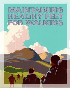 Healthy feet for Walking