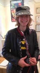Image of teenage guest Laurel