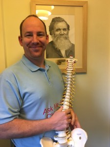 Doctor of Chiropractic James Revell explains the differences between chiropractic and osteopathy