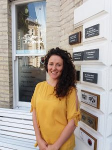 Image of Eastbourne Doctor of Chiropractic Carran Lefever to accompany her blog on Mctimoney chiropractor