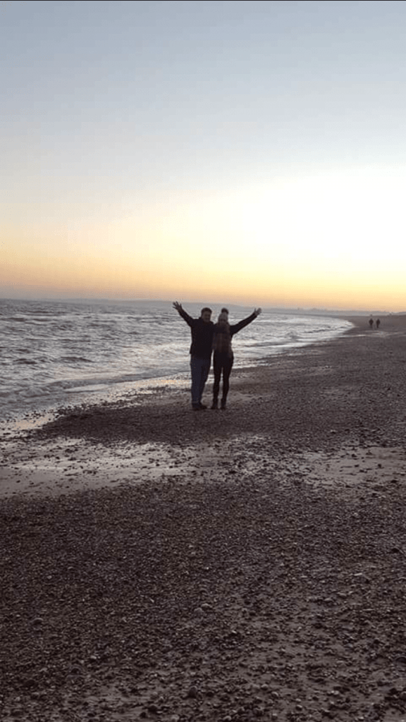 It's a great time of year to get the pedometer up by going for long walks on Eastbourne's beach with beautiful early sunsets and crisp winter weather.