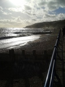 Image shows Eastbourne seafront to accompany the blog getting to know Lizzie Wright o