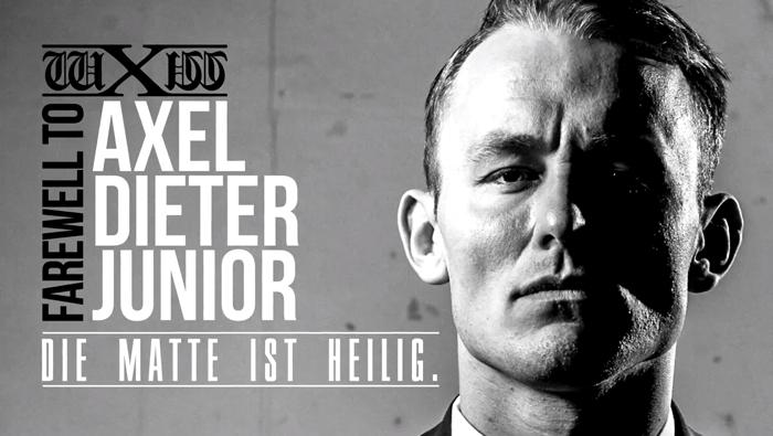 Wxw Die Matte Ist Heilig Farewell To Axel Dieter Junior April 30