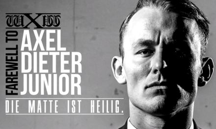 wXw Die Matte Ist Heilig: Farewell To Axel Dieter Junior (April 30, 2017)