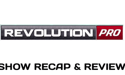 Revolution Pro Wrestling – Angle vs. Sabre Jr – June 12, 2016