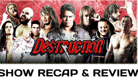 NJPW Destruction in Hiroshima (September 16, 2017)