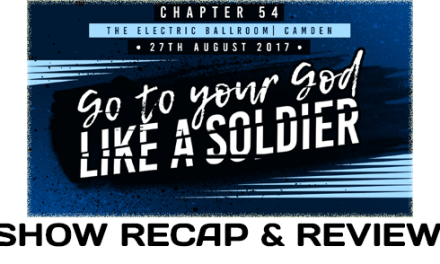 PROGRESS Chapter 54: Go To Your God Like A Soldier (August 27, 2017)