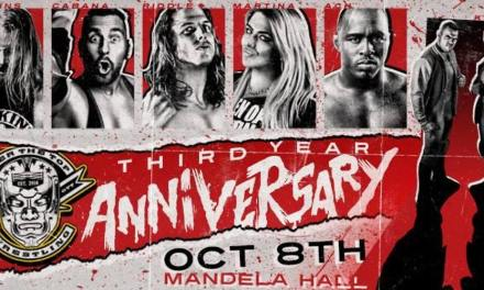 OTT Third Year Anniversary – Belfast (October 8, 2017)