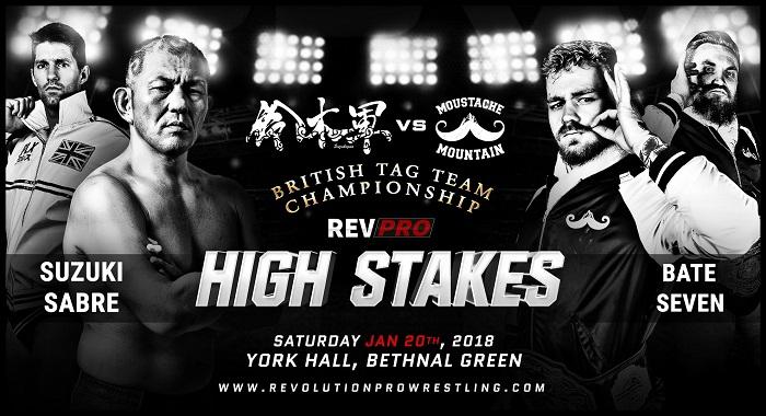 Revolution Pro Wrestling High Stakes 2018 (January 20, 2018)