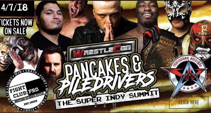 The Wrestling Revolver Pancakes & Piledrivers 2 (April 07, 2018)