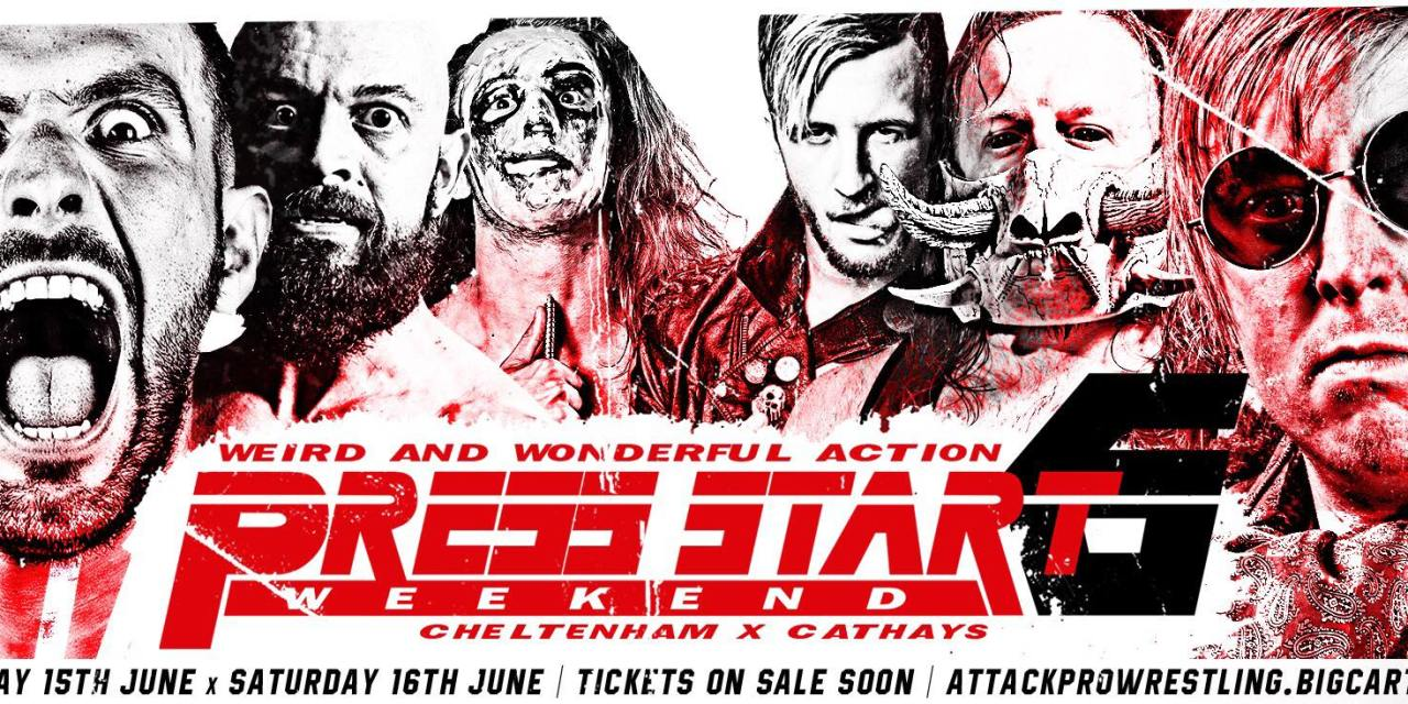 ATTACK! Pro Wrestling Press Start 6 (June 16, 2018)