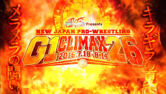 NJPW G1 Climax 26 – Day 6 Review – July 27, 2016