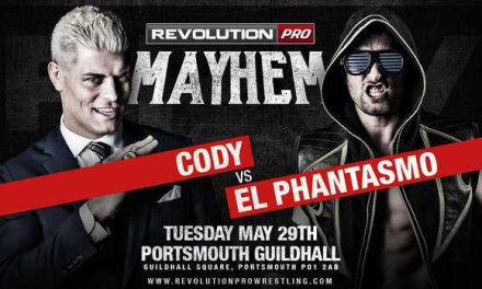 Revolution Pro Wrestling MAYhem (May 29, 2018)