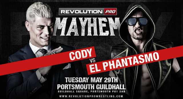 Revolution Pro Wrestling MAYhem (May 29, 2018)