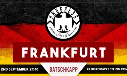 PROGRESS Frankfurt (September 02, 2018)