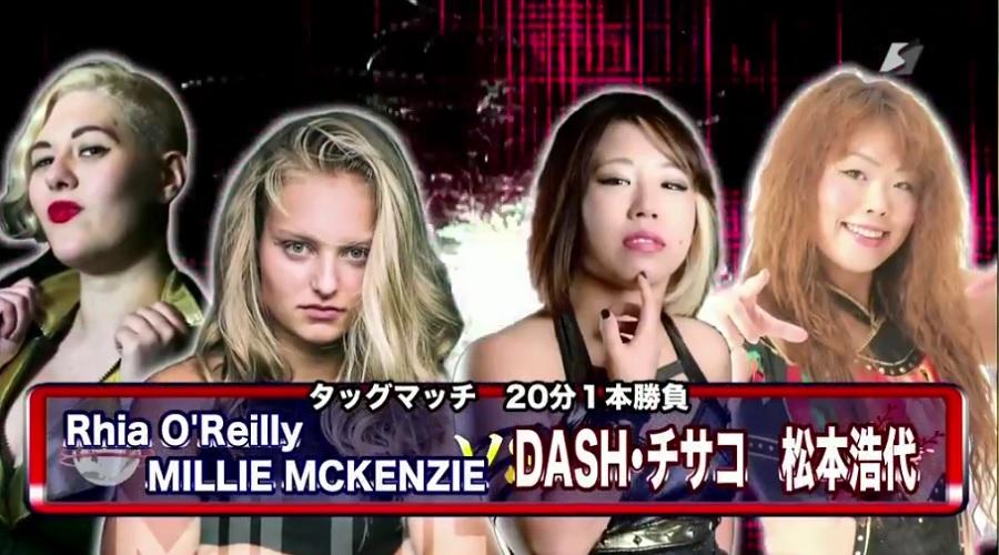 Match Review: DASH Chisako & Hiroyo Matsumoto vs. Millie McKenzie & Rhia O'Reilly (Sendai Girls, Joshi Puroresu Big Show 2018 In Sendai) (October 14, 2018)
