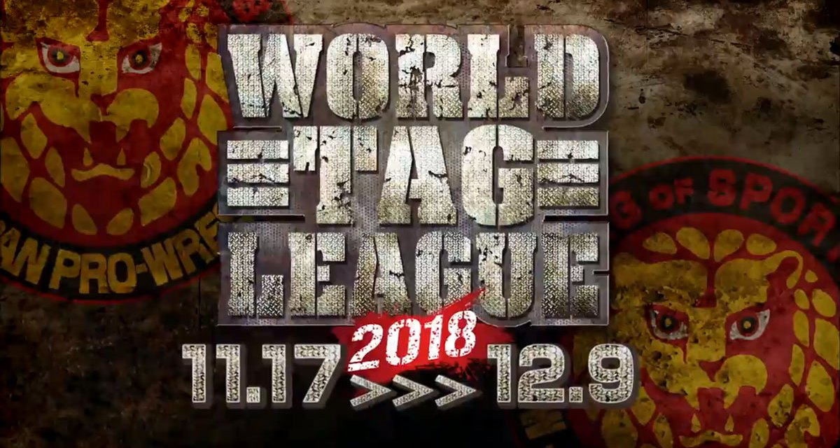 NJPW World Tag League 2018 – Night Fifteen (December 06, 2018)