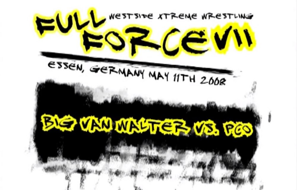 Match Review: PCO vs. WALTER (wXw Full Force VII) (May 11, 2008)