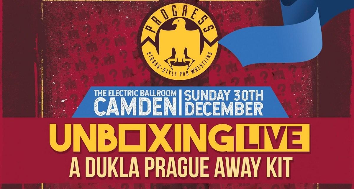 PROGRESS Chapter 82: Unboxing Live 3: A Dukla Prague Away Kit (December 30, 2018)