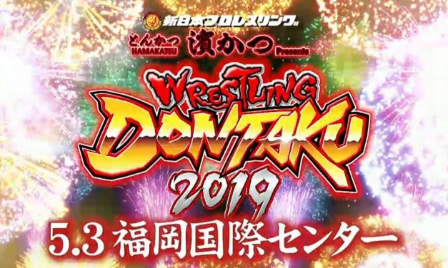 NJPW Wrestling Dontaku 2019 – Night One (May 03, 2019)