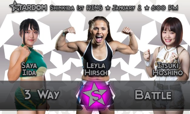 Match Review: Leyla Hirsch vs. Itsuki Hoshino vs. Saya Iida (STARDOM New Year Stars 2020) (January 02, 2020)