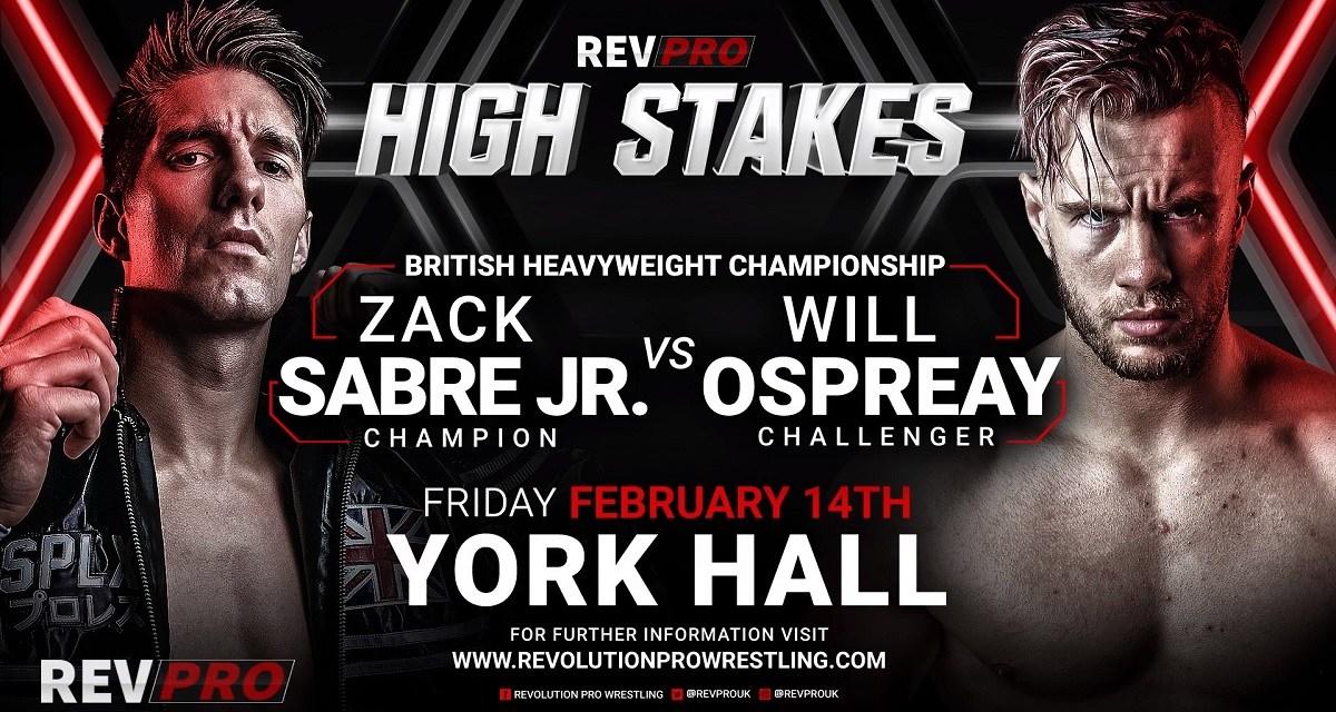 Revolution Pro Wrestling High Stakes 2020 (February 14, 2020)