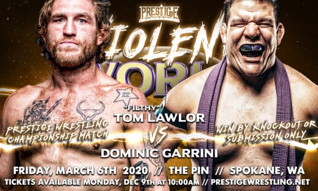 Match Review: Tom Lawlor vs. Dominic Garrini (Prestige Wrestling Violent World) (March 06, 2020)