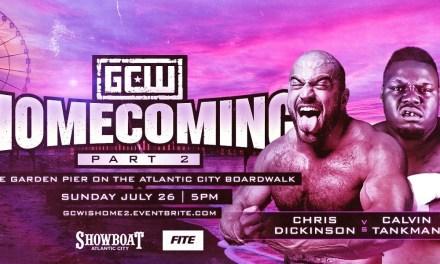 Match Review: Chris Dickinson vs. Calvin Tankman (GCW Homecoming Part 2) (July 26, 2020)