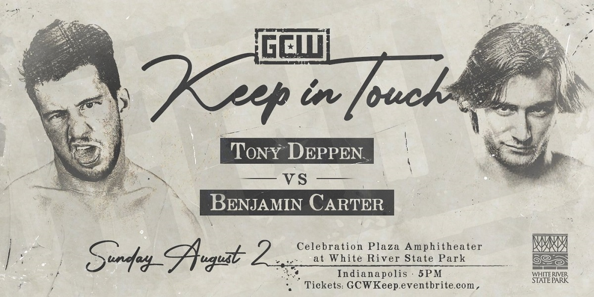 Match Review: Tony Deppen vs. Benjamin Carter (GCW Keep In Touch) (August 02, 2020)
