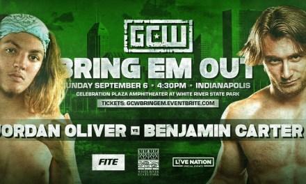 Match Review: Jordan Oliver vs. Benjamin Carter (GCW Bring Em Out) (September 06, 2020)