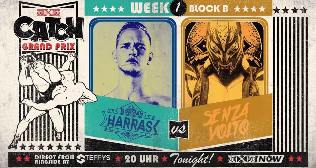wXw Catch Grand Prix Match Review: Norman Harras vs. Senza Volto (October 30, 2020)