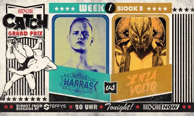 wXw Catch Grand Prix Match Review: Norman Harras vs. Senza Volto (October 30, 2020)