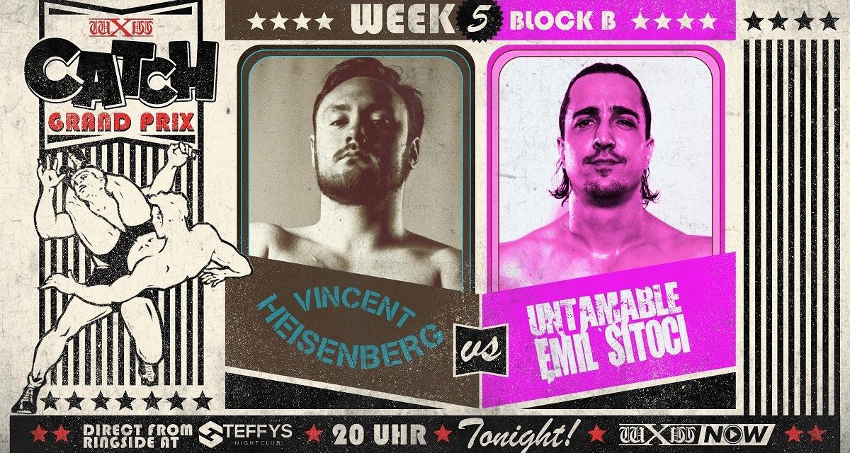 wXw Catch Grand Prix Match Review: Vincent Heisenberg vs. Emil Sitoci (November 26, 2020)