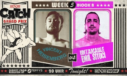 wXw Catch Grand Prix Match Review: Vincent Heisenberg vs. Emil Sitoci (November 26, 2020)