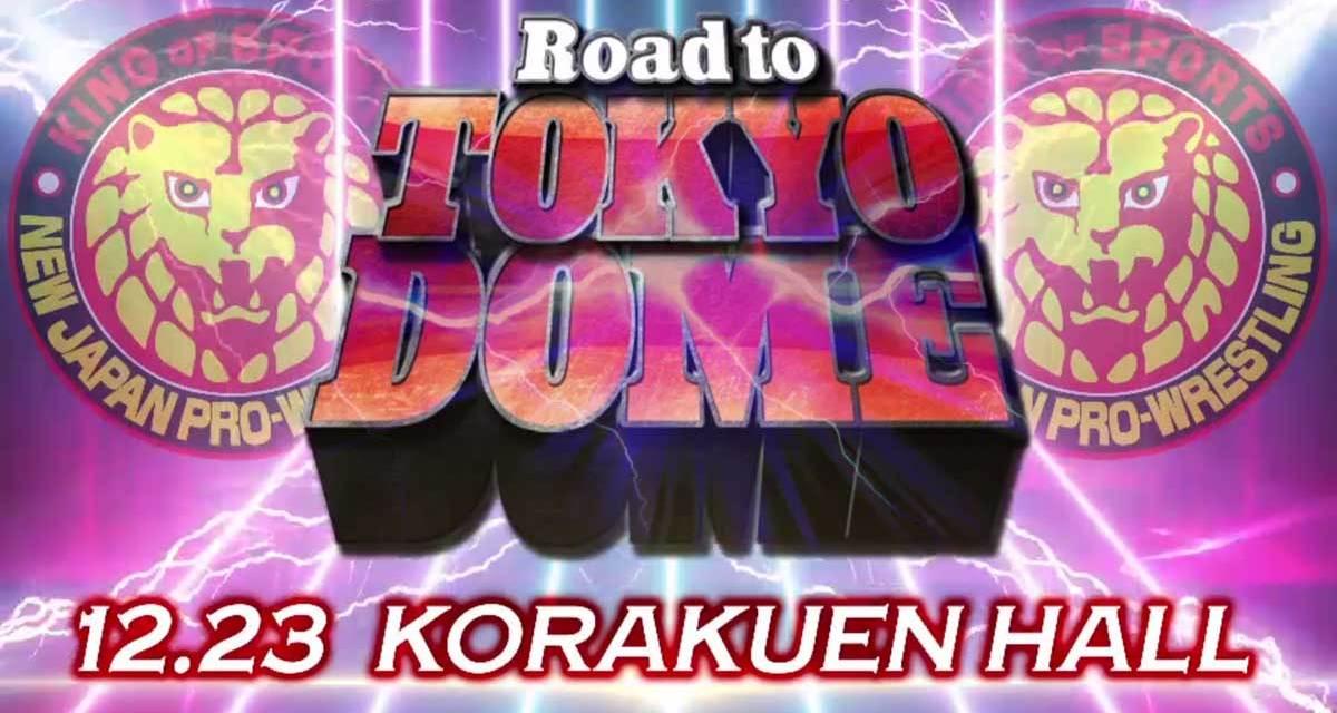 NJPW Road to Tokyo Dome – Night Seven (December 23, 2020)
