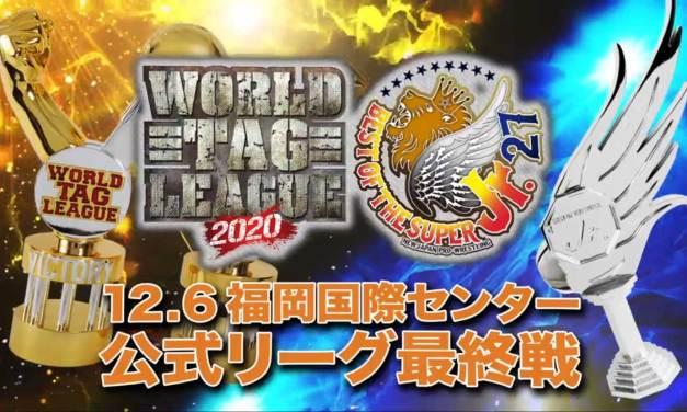 NJPW World Tag League 2020 x Best of the Super Junior 27 – Night Sixteen (December 06, 2020)