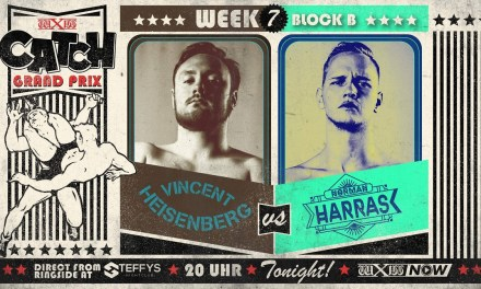 wXw Catch Grand Prix Match Review: Norman Harras vs. Vincent Heisenberg (December 11, 2020)